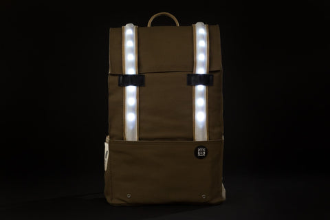 sac a dos galuchon natural pop noir led