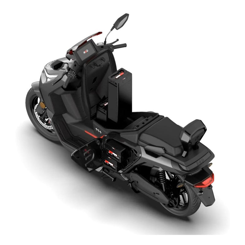 scooter electrique RED Electric Model E100 batterie