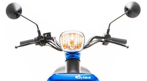 scooter electrique askoll es2 phare avant