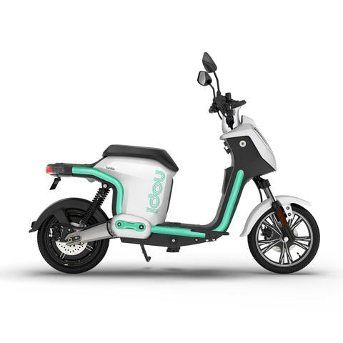scooter electrique doohan idou 50 blanc suspension