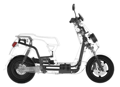 scooter electrique niu n1sport systeme