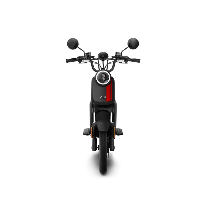 scooter electrique nui u series phare avant