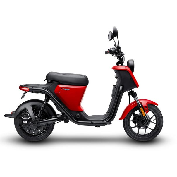 scooter electrique nui u series rouge