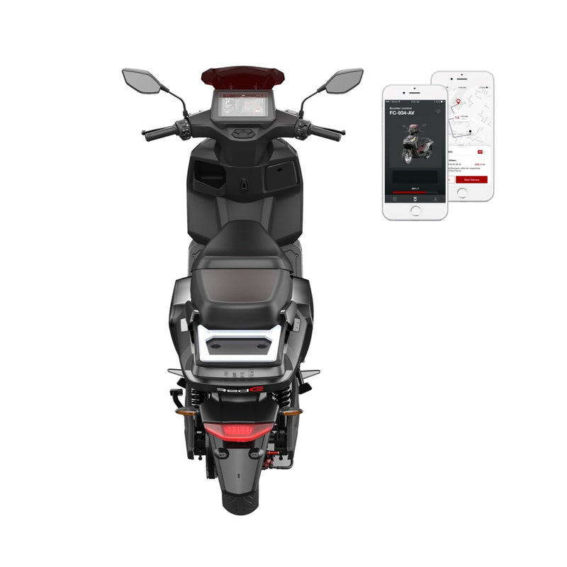 scooter electrique rede 2go application bluetooth red electric model e50