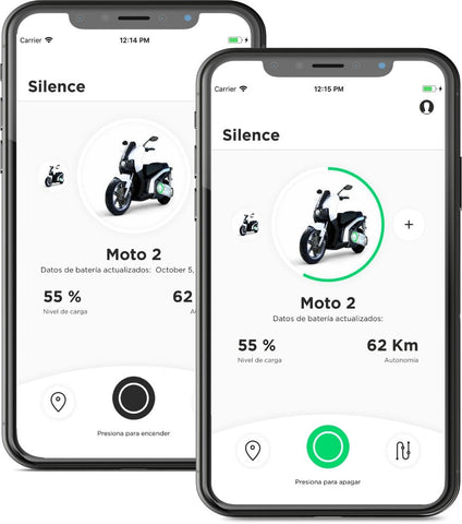 scooter electrique silence s01 application