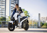 scooter electrique silence s01 blanc femme