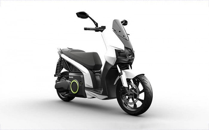 scooter electrique silence s01 blanc pas cher