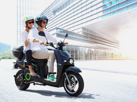 scooter electrique silence s01 design
