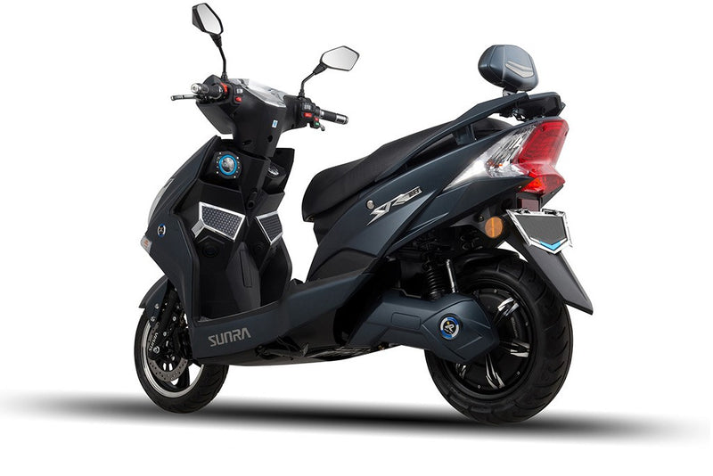 scooter electrique sunra hawk batterie