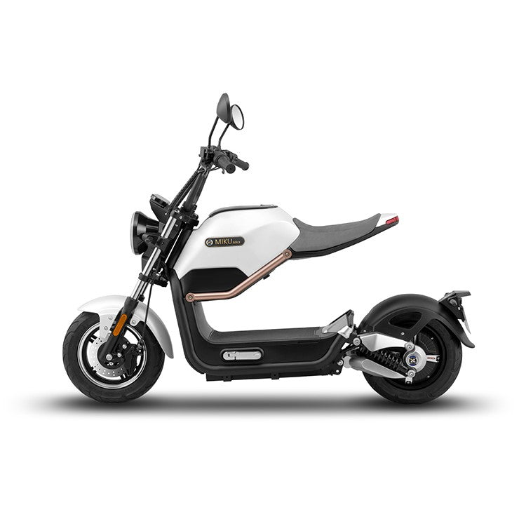 scooter electrique sunra miku max blanc