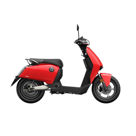 scooter electrique super soco cu x rouge