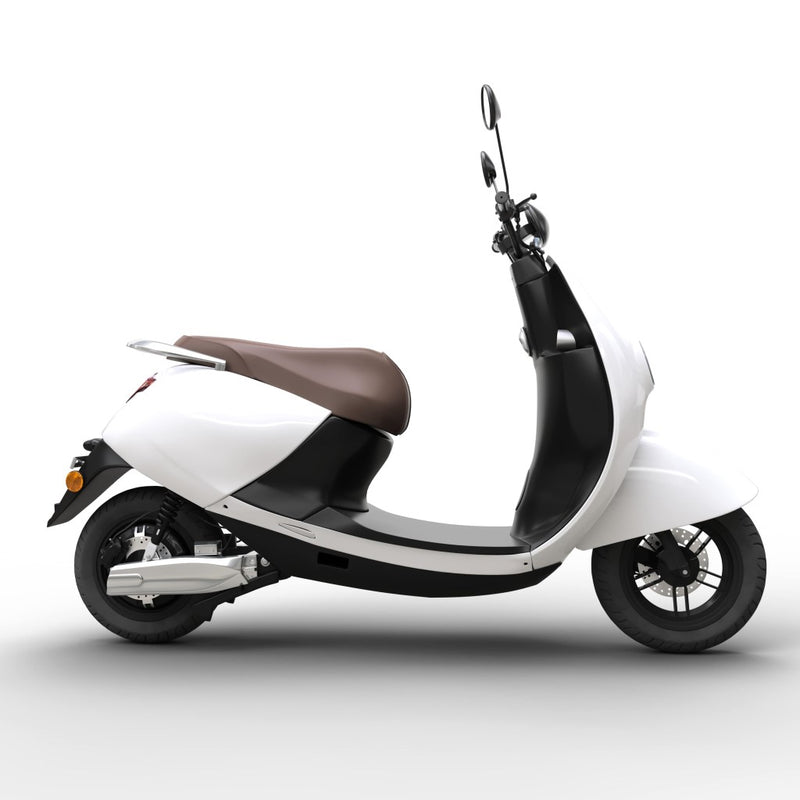 scooter electrique twild city urbain blanc design