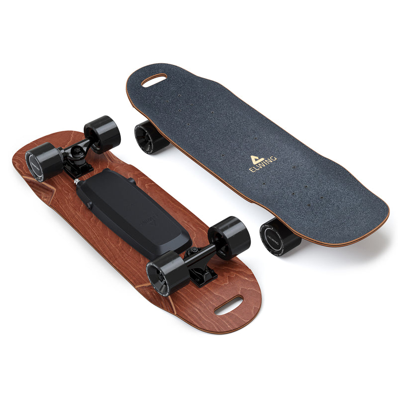 Skateboard électrique Elwing Nimbus Cruiser - POWERKIT et POWERKIT SPORT