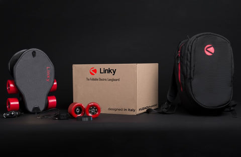 skate electrique linky pliable package