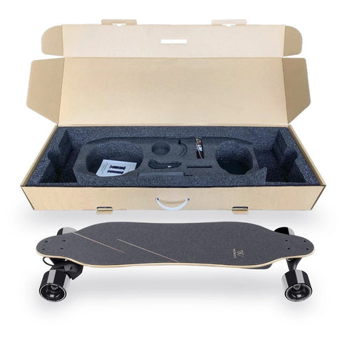 skate electrique wowgo 3X packaging