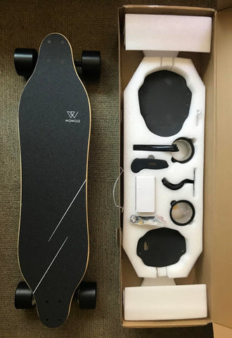 skate electrique wowgo 3 packaging