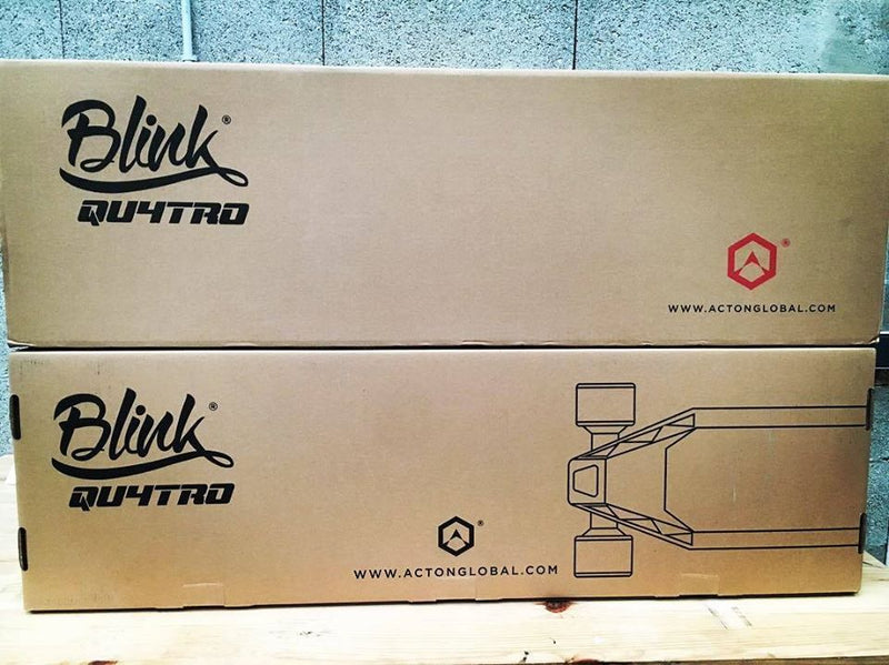 skateboard electrique acton blink qu4tro packaging