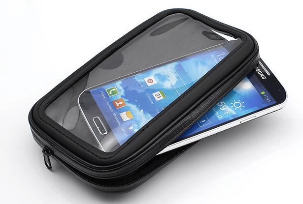 support smartphone velo electrique tactile