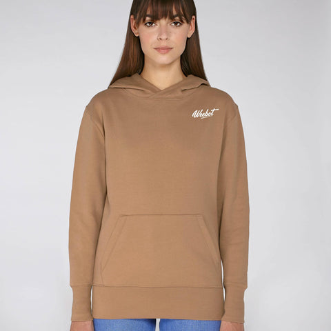 sweat shirt weebot chill marron femme