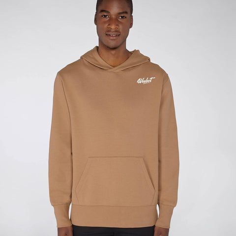 sweat shirt weebot chill marron homme