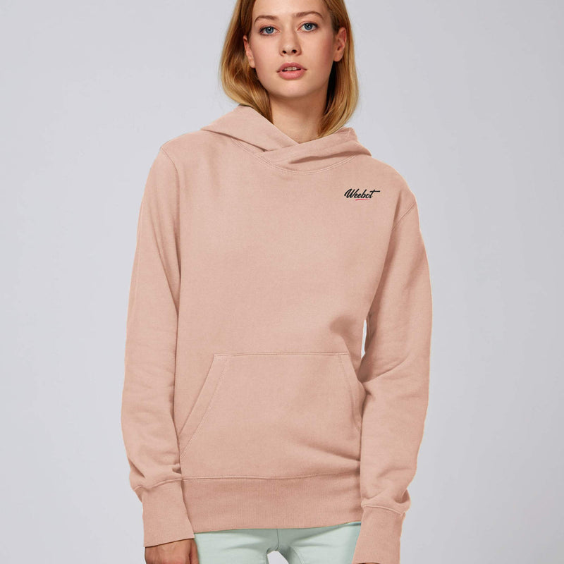 sweat shirt weebot chill rose femme