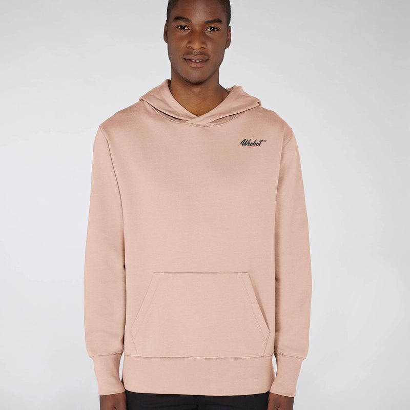 sweat shirt weebot chill rose homme