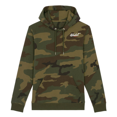 sweat shirt weebot cruiser logo camouflage