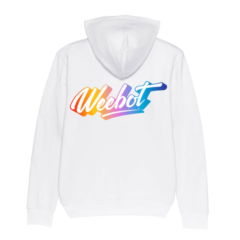 sweat shirt weebot cruiser logo neon capuche