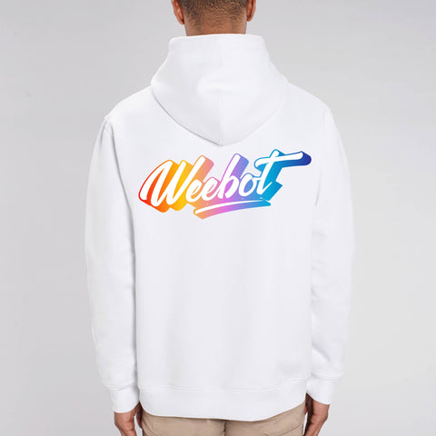 sweat shirt weebot cruiser logo neon homme