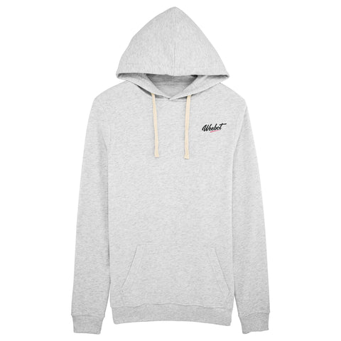 sweat shirt weebot suede blanc