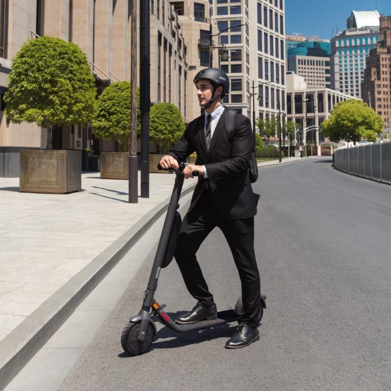 trottinette electrique ninebot by segway e45e test