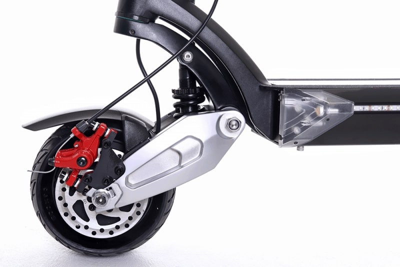 trottinette electrique zero 8x suspension avant