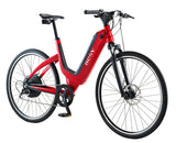 velo electrique besv js1 jaguar advanced rouge