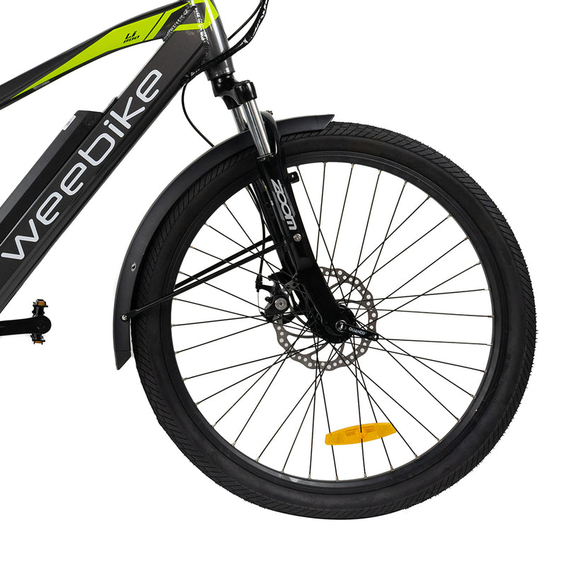 velo electrique suspension quest plus freins disques