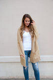 Oversized Knit Cardigan in Oatmeal - Lovelea Boutique