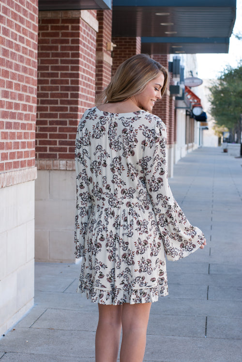 Boho Floral Dress - Paperback Boutique
