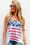 American Flag USA Tank Top - Lovelea Boutique