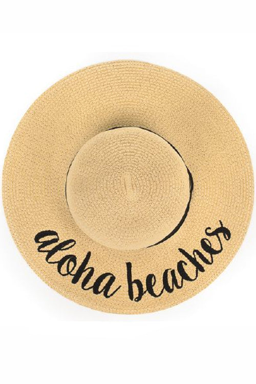 Aloha Beaches Sunhat - Paperback Boutique