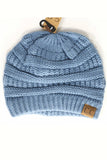 Denim C.C Beanie - Lovelea Boutique