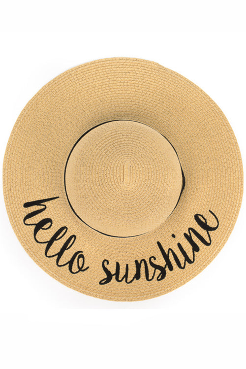 Hello Sunshine Sunhat - Paperback Boutique
