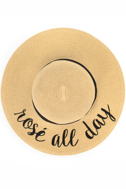Rosé All Day Sunhat - Paperback Boutique