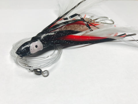 Mahi Magnet Black/Red Dolphin Lure