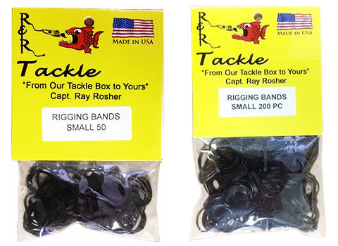 Black Bait Rigging Bands Small
