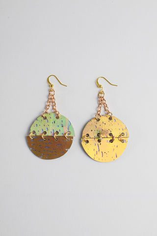 COLOSSEUM CHAIN EARRINGS