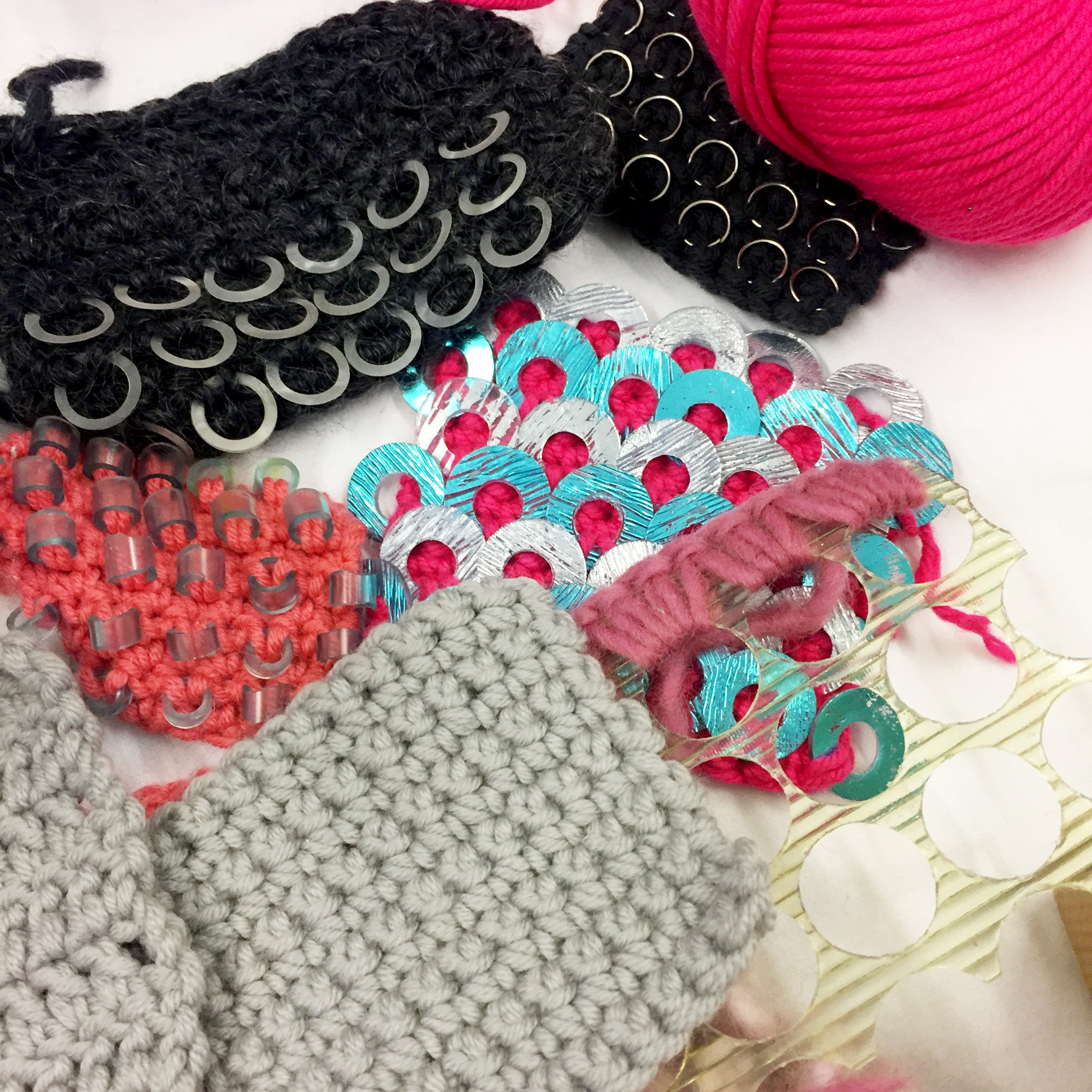 EXPERIMENTAL CROCHET WORKSHOP