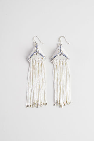 PYRAMID TASSEL EARRINGS