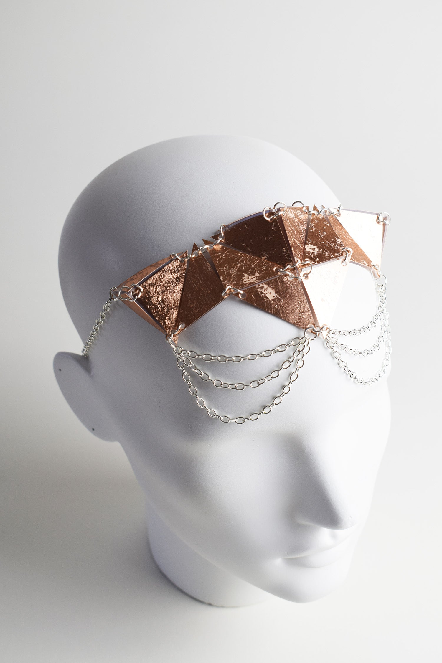 SMALL HOLOGRAPHIC HEADPIECE