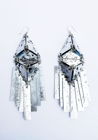 METALLIC LIANNE EARRINGS