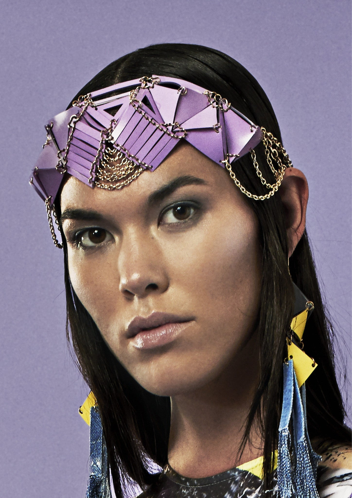 PYRAMID HEADPIECE