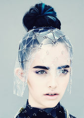TRIANGLES HEADPIECE